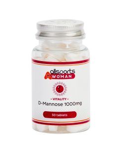ALLSPORTS:WOMAN Vitality D-Mannose 1000mg Tablets