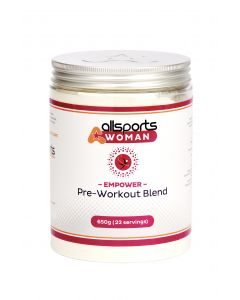 ALLSPORTS:WOMAN Empower Pre-Workout Blend 650g