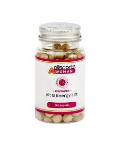 ALLSPORTS:WOMAN Empower Vit B Energy Lift 180 Tablets
