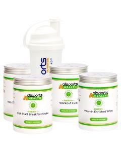 ALLSPORTS:HEALTH Energy+ Workout Refresh Bundle