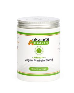 ALLSPORTS:HEALTH Energy+ Vegan Protein Blend 400g