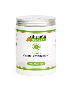 ALLSPORTS:HEALTH Energy+ Vegan Protein Blend 400g