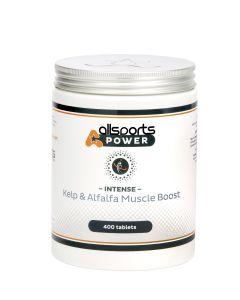 ALLSPORTS:POWER Intense Kelp & Alfalfa Muscle Booster 400 tablets