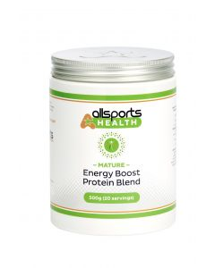 ALLSPORTS:HEALTH Mature Energy Boost Protein Blend 500g