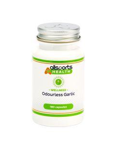 ALLSPORTS:HEALTH Wellness Odourless Garlic 180 Capsules