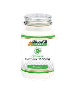ALLSPORTS:HEALTH Wellness Turmeric 1500mg 60 tablets