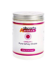 ALLSPORTS:WOMAN Vitality Pure Whey Shake 450g